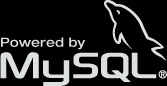 powered by mysql
